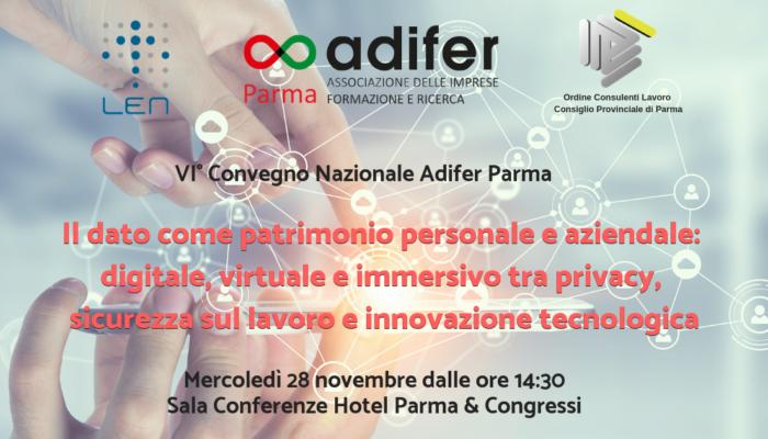 VI Convegno Adifer Parma